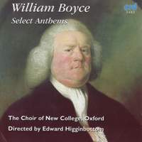 William Boyce - Select Anthems