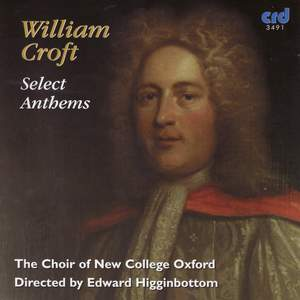 William Croft - Select Anthems Product Image