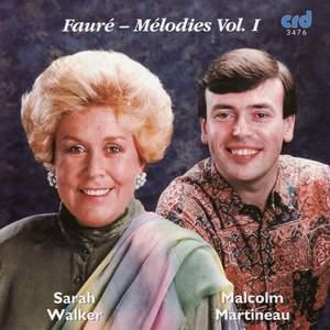 Fauré - Chansons Vol. 1