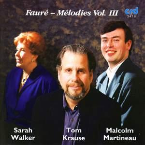 Fauré - Chansons Vol. 3