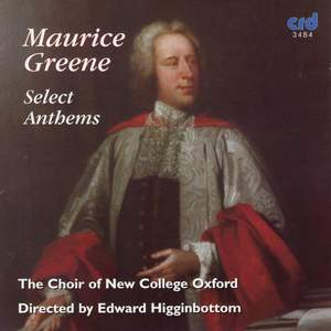 Maurice Greene: Select Anthems Product Image