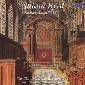Byrd: Cantiones Sacrae 1591 Product Image