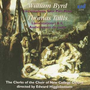 New College sing Byrd and Tallis Product Image