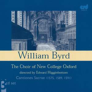 Byrd: Cantiones Sacrae Product Image