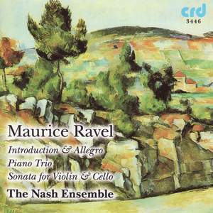 Ravel: Introduction & Allegro for Harp, Flute, Clarinet and String Quartet, etc.
