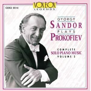 Sandor Plays Prokofiev Vol. 2