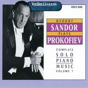 Sandor Plays Prokofiev Vol. 1 Product Image