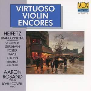 Virtuoso Violin Encores