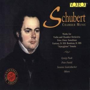 Schubert Chamber Music