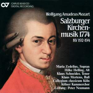 Mozart: Salzburg Church Music 1774