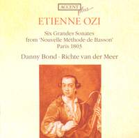 Ozi: Six Grandes Sonates from 'Nouvelle Méthode de Basson'