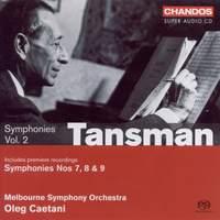 Tansman - Symphonies Volume 2