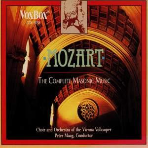 Mozart: The Complete Masonic Music