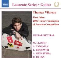 Guitar Laureate: Thomas Viloteau