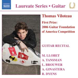 Guitar Laureate: Thomas Viloteau