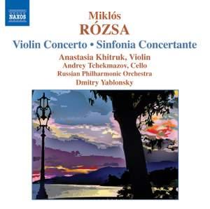Rosza: Violin Concerto & Sinfonia Concertante Product Image