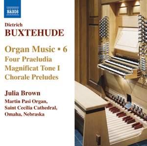Buxtehude - Organ Music Volume 6