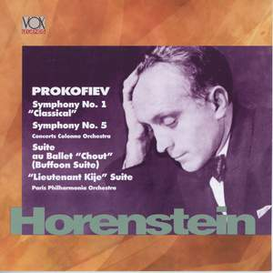 Prokofiev: Symphonies Nos. 1 & 5, Suites from Chout & Lieutenant Kijé