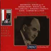 Beethoven, Mendelssohn, Dallapiccola & Ravel: Piano Works