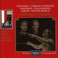 Hartmann: Sodom und Gomorrha & Zemlinsky: Lyric Symphony