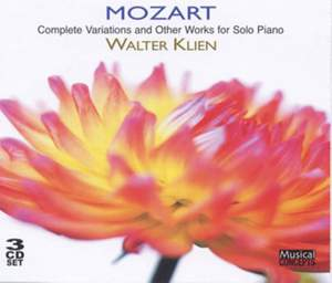 Mozart - Complete Variations for Solo Piano