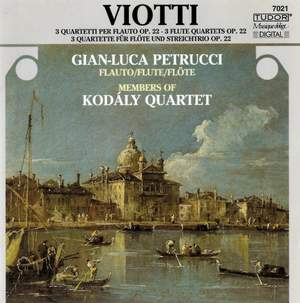 Viotti: Flute Quartet in Bb major, No. 1, etc.
