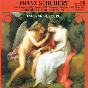 Schubert: Variations on Diabelli's Waltz, D718, etc. Product Image