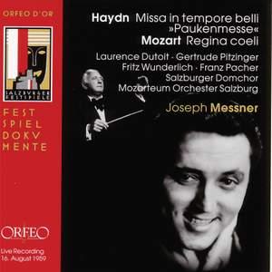 Mozart: Regina coeli & Haydn: Paukenmesse