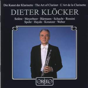 Dieter Klöcker - The Art of Clarinet