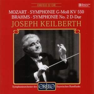 Mozart: Symphony No. 40 & Brahms: Symphony No. 2