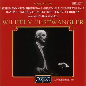 Furtwängler conducts Symphonies by Schumann, Bruckner & Haydn Product Image