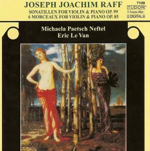 Joachim Raff: Sonatillen & Six Morceaux, Op. 85 Product Image