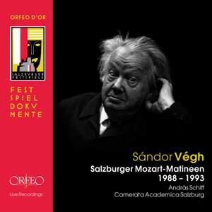 Sandor Vegh: Salzburg Mozart