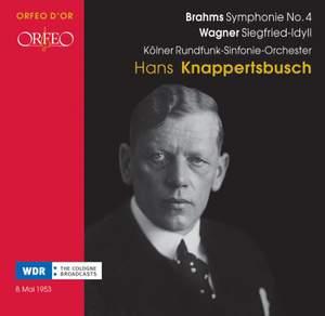 Brahms: Symphony No. 4 & Wagner: Siegfried Idyll