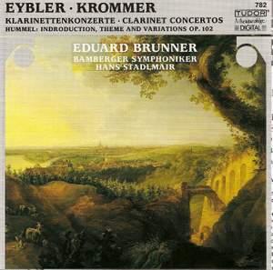Krommer: Clarinet Concerto in E flat major Op. 36, etc.