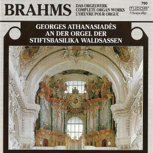 Brahms: Chorale Preludes (11), Op. 122, etc.