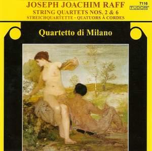 Raff: String Quartet No. 2 in A major, Op. 90, etc.