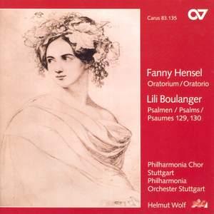 Mendelssohn, Fanny: Oratorium auf Worte aus der Bibel, etc.