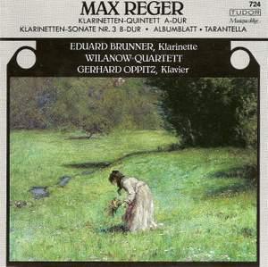Reger: Clarinet Quintet in A major, Op. 146, etc. Product Image