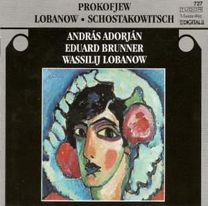 Lobanov, Prokofiev & Shostakovich: Chamber Works
