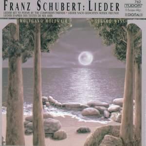 Schubert: Lieder nach Gedichten seiner Freunde