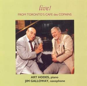 Live from Toronto's Café des Copains