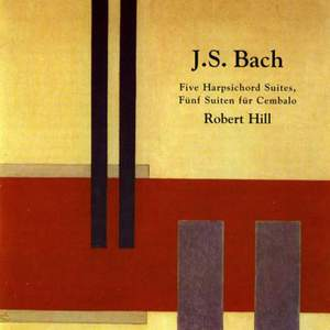 J.S. Bach: Five Harpsichord Suites