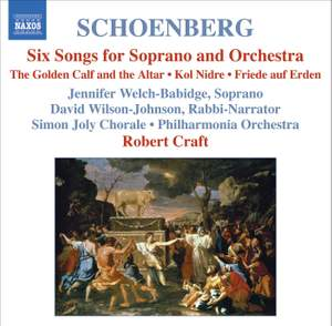 Schoenberg - Choral Works Product Image
