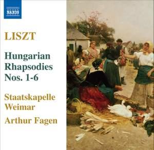 Liszt - Hungarian Rhapsodies Nos. 1 - 6