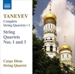 Taneyev: Complete String Quartets Volume 1 Product Image