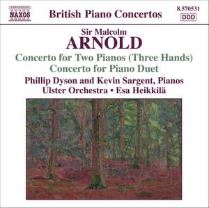 Arnold: Concerto for Two Pianos