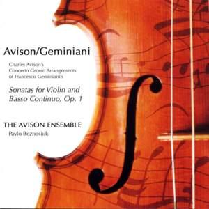 Charles Avison - Concerto Grossi after Geminiani