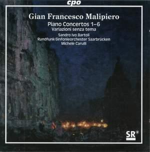 Malipiero - Complete Piano Concertos