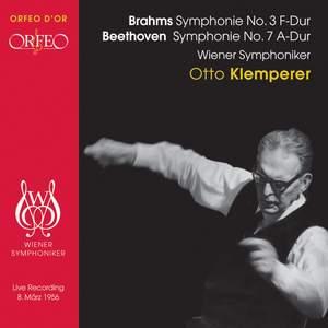 Brahms: Symphony No. 3 & Beethoven: Symphony No. 7 Product Image